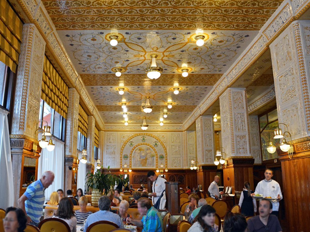 Art Deco Food Menu